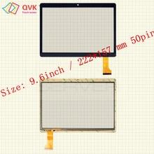 9,6 дюймов для ирбис TZ968 TZ961 TZ963 TZ960 TZ965 TZ969 TZ962 планшетный ПК емкостный сенсорный экран стекла digitizer панель
