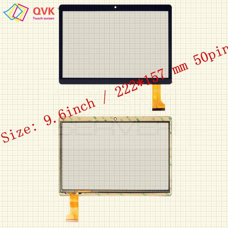 9.6 Polegada para Irbis TZ968 TZ961 TZ963 TZ960 TZ965 TZ969 TZ962 tablet pc tela de toque capacitivo painel de digitador de vidro