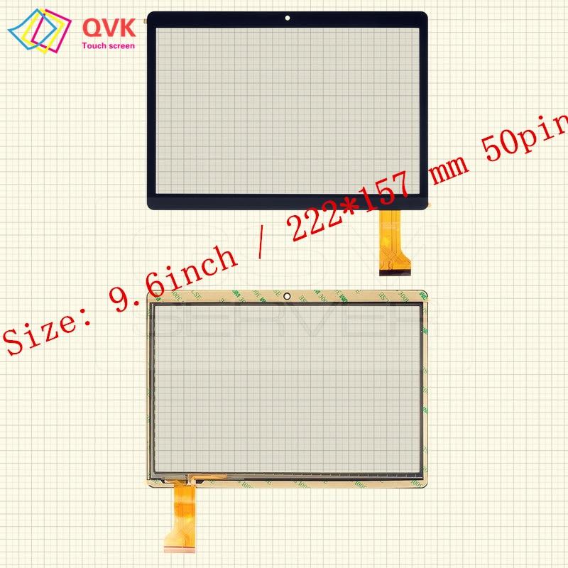 9,6 pulgadas para Irbis TZ968 TZ961 TZ963 TZ960 TZ965 TZ969 TZ962 capacitiva de la pc de la tableta de pantalla táctil de cristal digitalizador de panel
