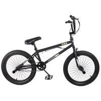 HILAND 20 ''BMX велосипед Фристайл сталь велосипед двойной Суппорт тормозной шоу велосипед трюк Акробатический велосипед