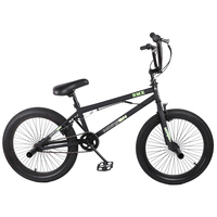 HILAND 20'' BMX Bike Freestyle Steel Bicycle Bike Double Caliper Brake Show Bike Stunt Acrobatic Bike