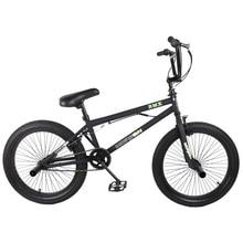 HILAND 20'' BMX Bike Freestyle Steel Bicycle Bike Double Caliper Brake Show Bike