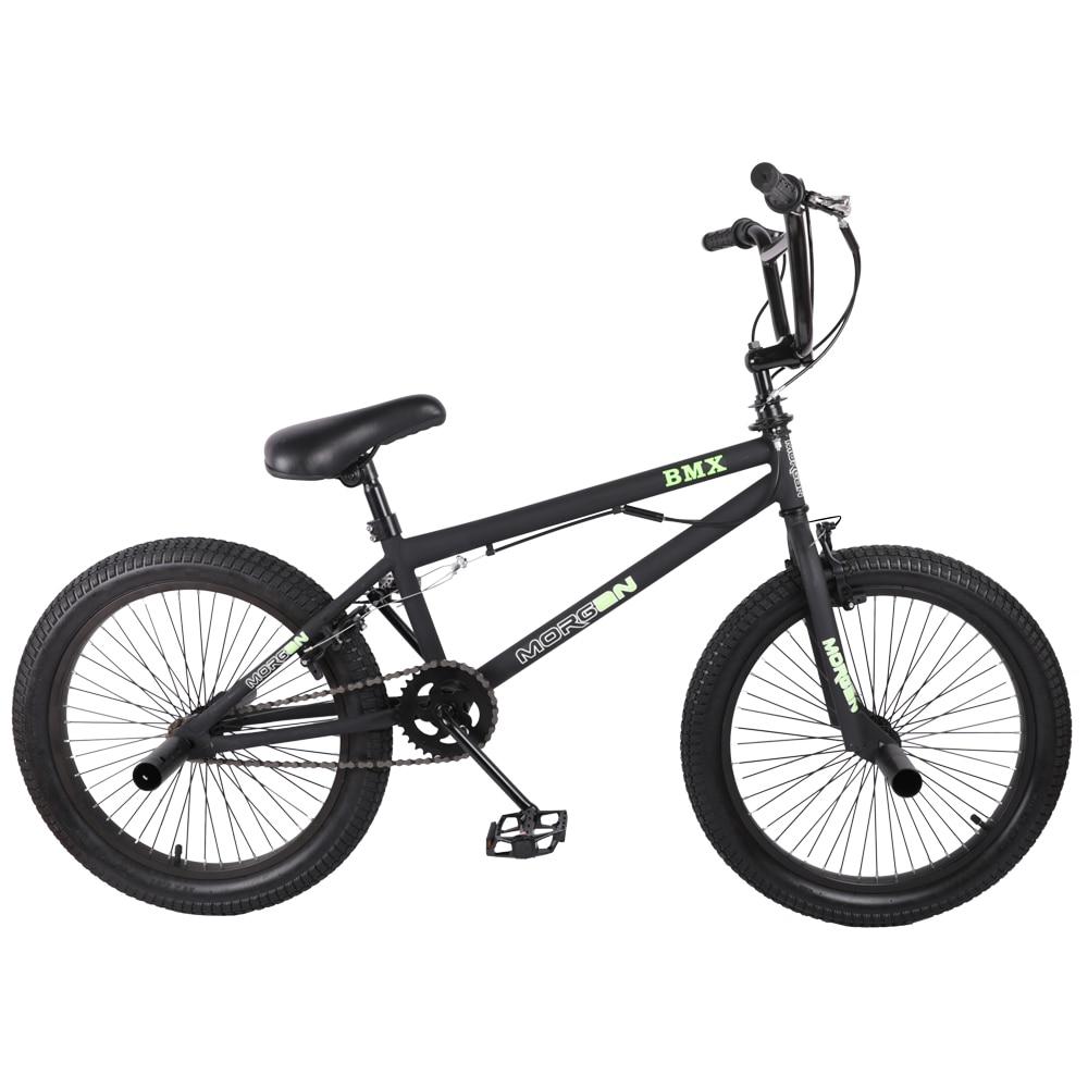 HILAND 20 ''BMX Vélo Freestyle En Acier Vélo Vélo À Double Étrier De Frein Show Bike Stunt Acrobatique Vélo