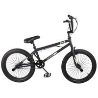 HILAND 20'' BMX Bike Freestyle Steel Bicycle Bike Double Caliper Brake Show Bike Stunt Acrobatic Bike