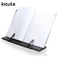 Kicute Adjustable Portable Steel Document Book Stand Reading Desk Holder Bookstand Hone Office School Supply