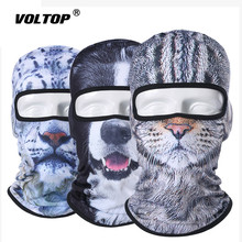 3D Animal Balaclava Motorcycle Full Face Mask Hats Helmet Windproof Breathable Snowboard Cycling Ski