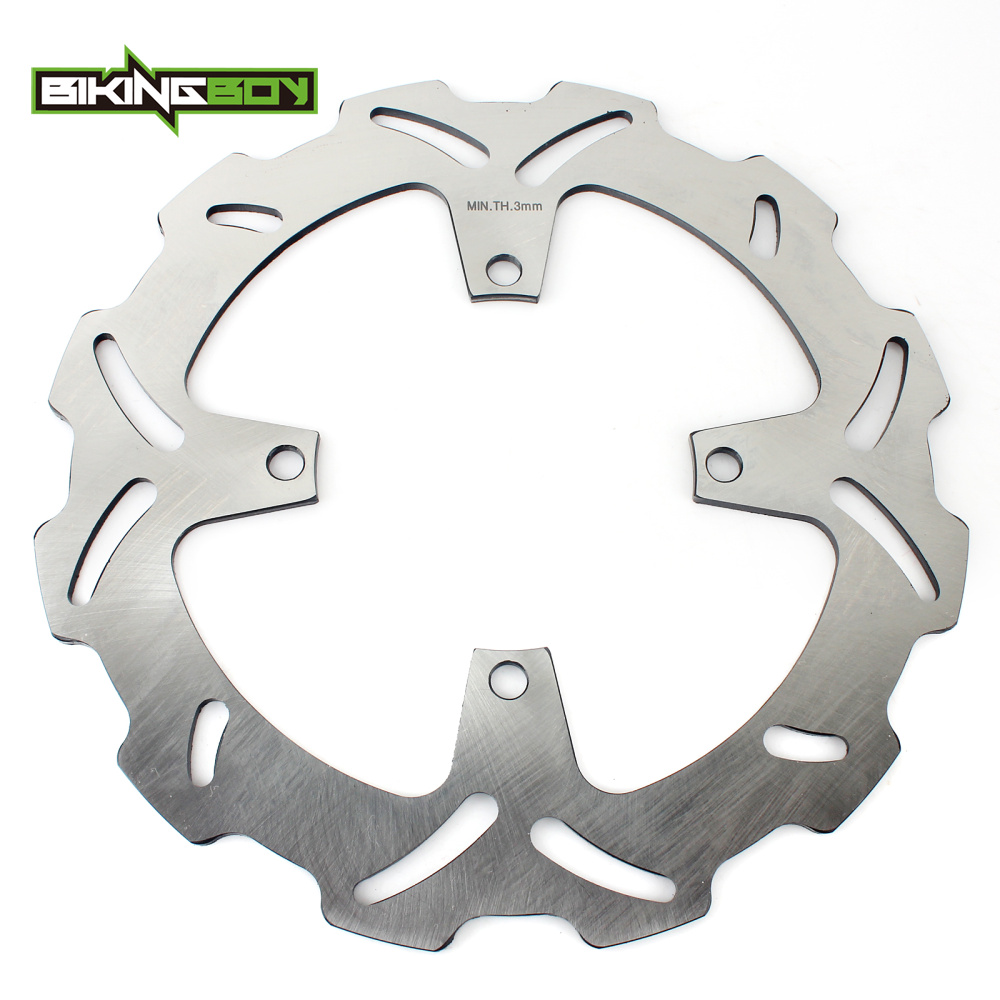 BIKINGBOY Front Brake Disc Rotor Disk For SUZUKI RMZ250 RMZ 250 RM-Z 250 RM-Z250 2004 2005 2006 04 05 06 bikingboy atv quad front brake disk disc rotor for yamaha yfm250 yfm700 yfm 250 700 raptor special edition yzf450 yfz450 04 2013