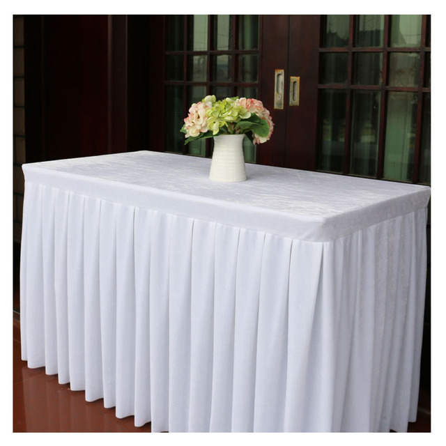 Conference Table Cloth Plush Solid Tablecloths For Weddings Banquet - Conference table skirts