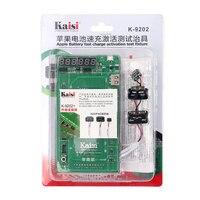 קייסי K-9202 מתקן מבחן הפעלה טעינת סוללה עבור iPhone של אפל, עבור iPad לוח היגיון כבל בדיקות במעגל הנוכחי