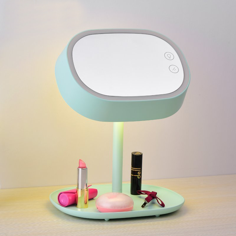 Zuoge Portable Touch Mode Led Cosmetmake Up Mirror Desk Lamp Dressing Table Gift Charge Light In Lamps From Lights Lighting On