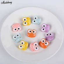 Fashion Cute Frog Summer Fresh Kids DIY Beads Hair Accessory Buttons Scattered Jewelry