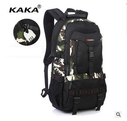 Brand KAKA Backpack Men Oxford Laptop Backpack Large Capacity Men Travel Bag Men Shoulder Bag Water Proof laptop travel bags стоимость