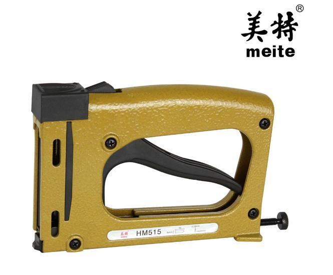 manual stapler manual nailer hm515 frame tacker with 1000pcs staples air gunchina mainland