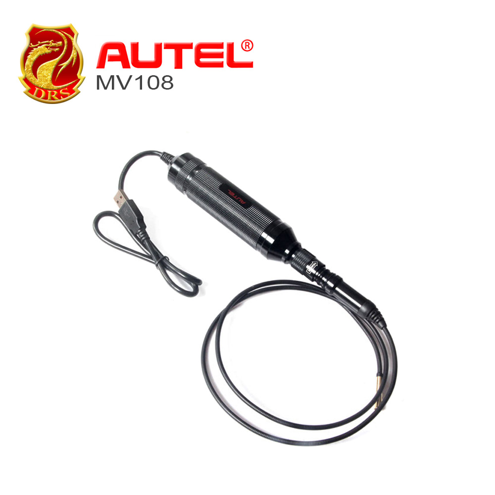 Autel MaxiVideo MV108 Autel Digital Inspection Cameras MV 108 for MaxiSys Series Products & PC examine difficult-to-reach areas