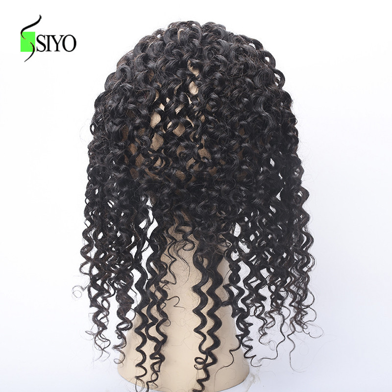 Siyo Brazilian Water Wave 360 Lace Frontal Closure With Baby Hair Natural Hairline 100% Non-remy Human Hair Weaving