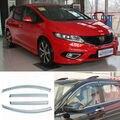 4 шт. Новый Копченый Очистить Окно Vent Shade Visor Обтекатели Honda Джед