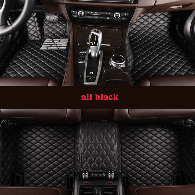 kalaisike Custom car floor mats for Maserati all models GranTurismo Ghibli Levante quattroporte auto accessories car styling|Floor Mats| |  - title=