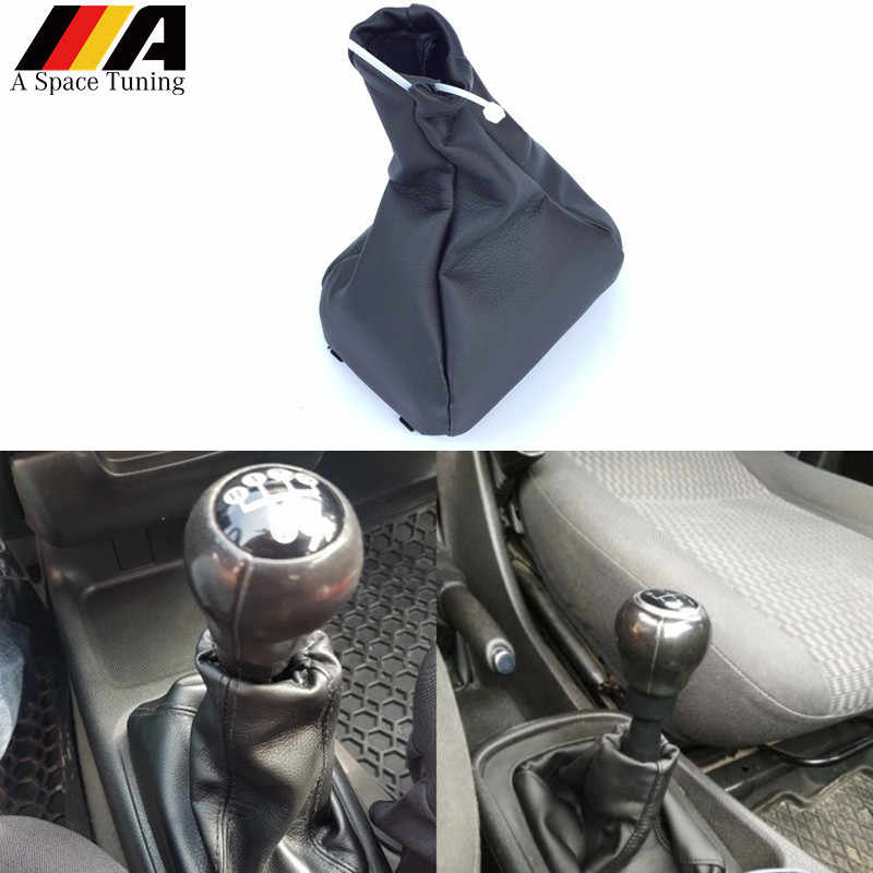 غطاء مقبض تغيير السرعة في السيارة غطاء جزمة التروس لأوبل كورسا B 93-00 Kadett E 84-93 Calibra 90-97 Vectra A 88-95 Astra F vوكسهول