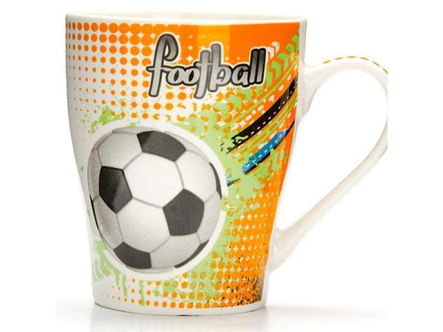 Кружка LORAINE, Футбол, Football, 340 мл, разноцветный