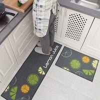 למעלה איכות מים ושמן מטבח מרפסת מחצלות דלת שטיחים החלקה מרפסת חדר אמבטיה שטיח מחצלות 2 יח'\סט
