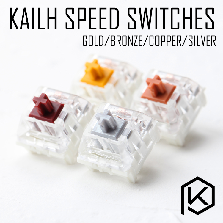 Kailh Speed Switch RGB SMD Gold Golden Silver Copper Bronze Pink MX RGB Swithes For Backlit Mechanical Gaming Keyboard