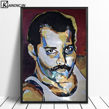 Art Poster Freddie Mercury Posters and Prints Wall Picture Canvas Painting Room Home Decoration No Frame(China)