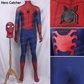 Hero Catcher Civil War Spiderman Costume 3D Shade Spandex Fullbody Halloween Cosplay Spider-man Superhero Costume