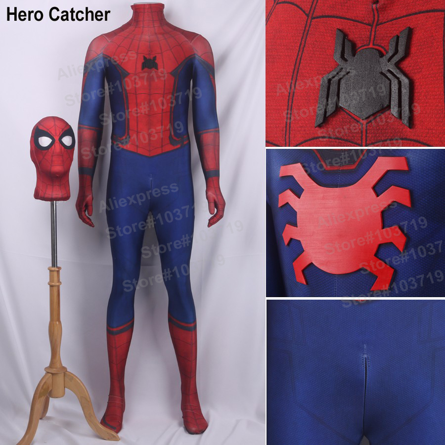 Online Buy Wholesale halloween spiderman costume from China ...