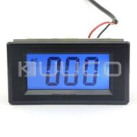 Digital Tester 0 ~1999uA AC Micro Amperage Measuring Digital Ampere Meter Blue LCD Low Current Measurement Panel Meter|panel meter|panel bluedigital panel meter lcd -