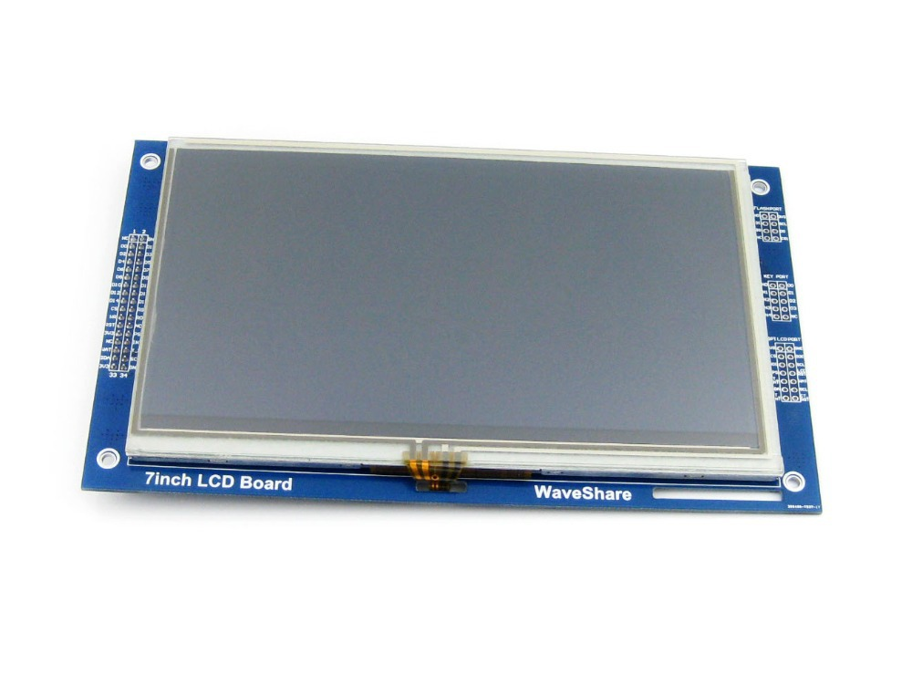Parts 7inch Resistive Touch LCD Display Module 800*480 Pixel Multicolor Screen RA8875 Controller Embedded 10KB Character ROM 11 0 inch lcd display screen panel lq110y3dg01 800 480