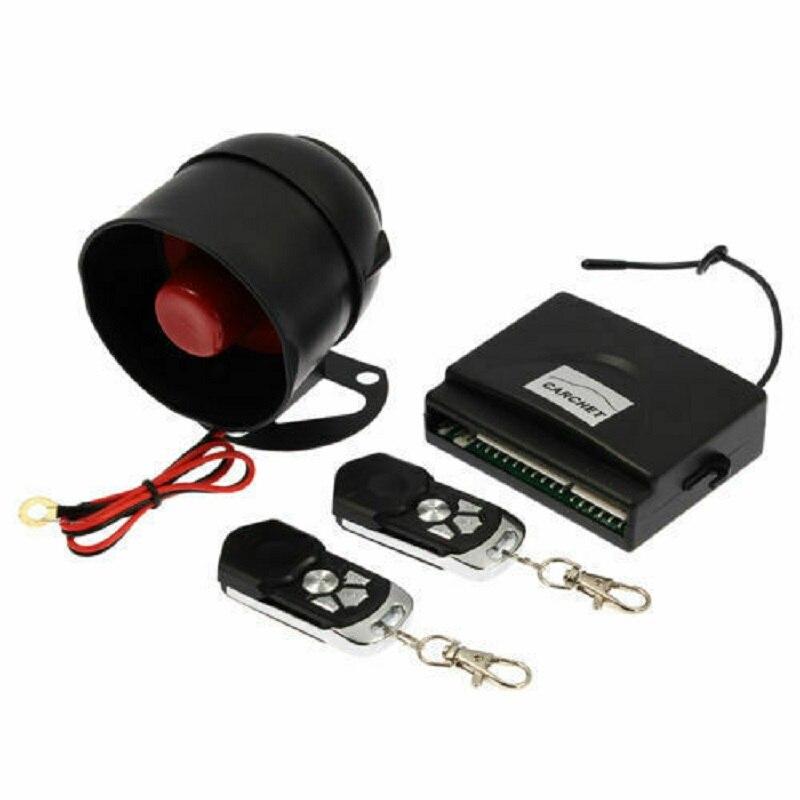 Kit de verrouillage Central de porte 2 télécommandes de voiture sans clé sirène d'alarme de voiture - 3