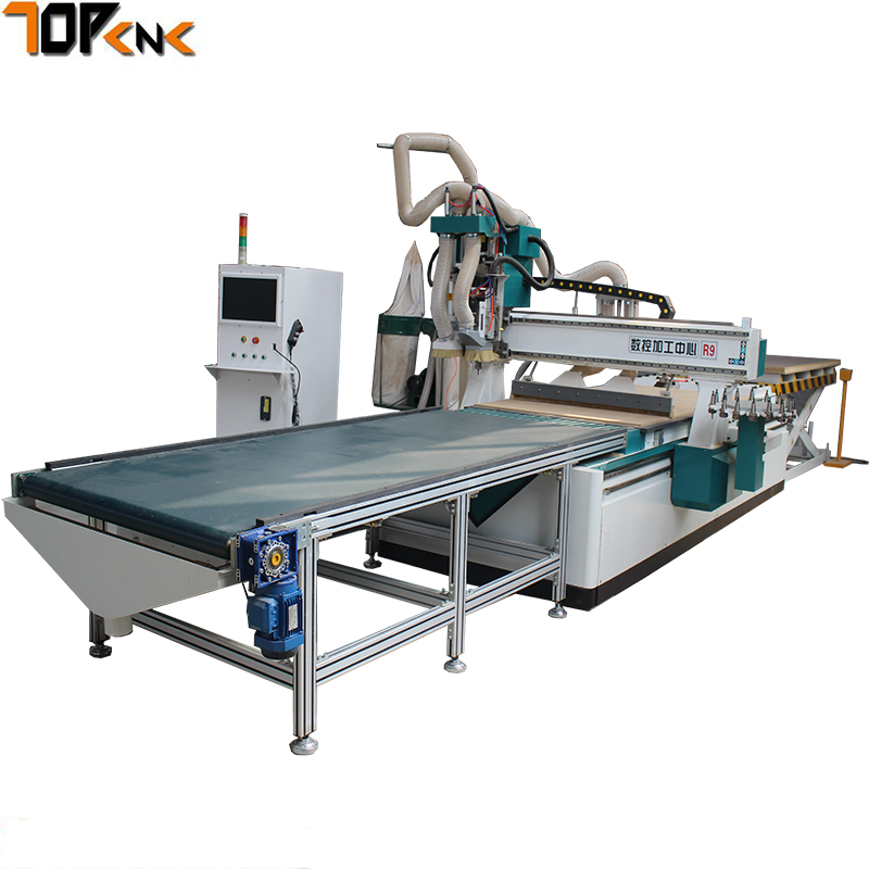 ATC tool changer wood cnc engraving router / 1325 ...