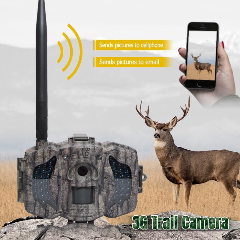 Boly Trail Camera Game Camera SG562-C White LED Flash 18mp 1080P Video