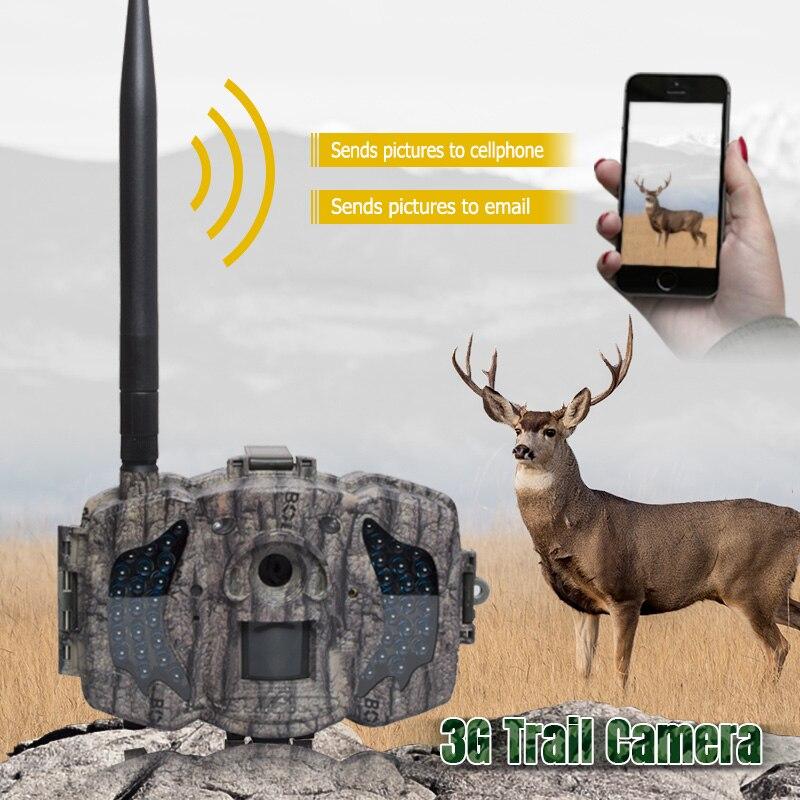 Caméra de chasse Bolyguard 36MP 3G MMS SMS 940nm IR Vision nocturne 100ft Scout caméra sauvage piège photo caméra cazza fotolovuska