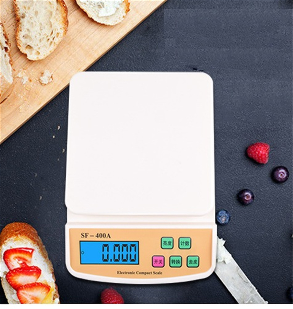 Весы Кухонные цифровые, 2/5/10 кг, 1/0,1 г-0