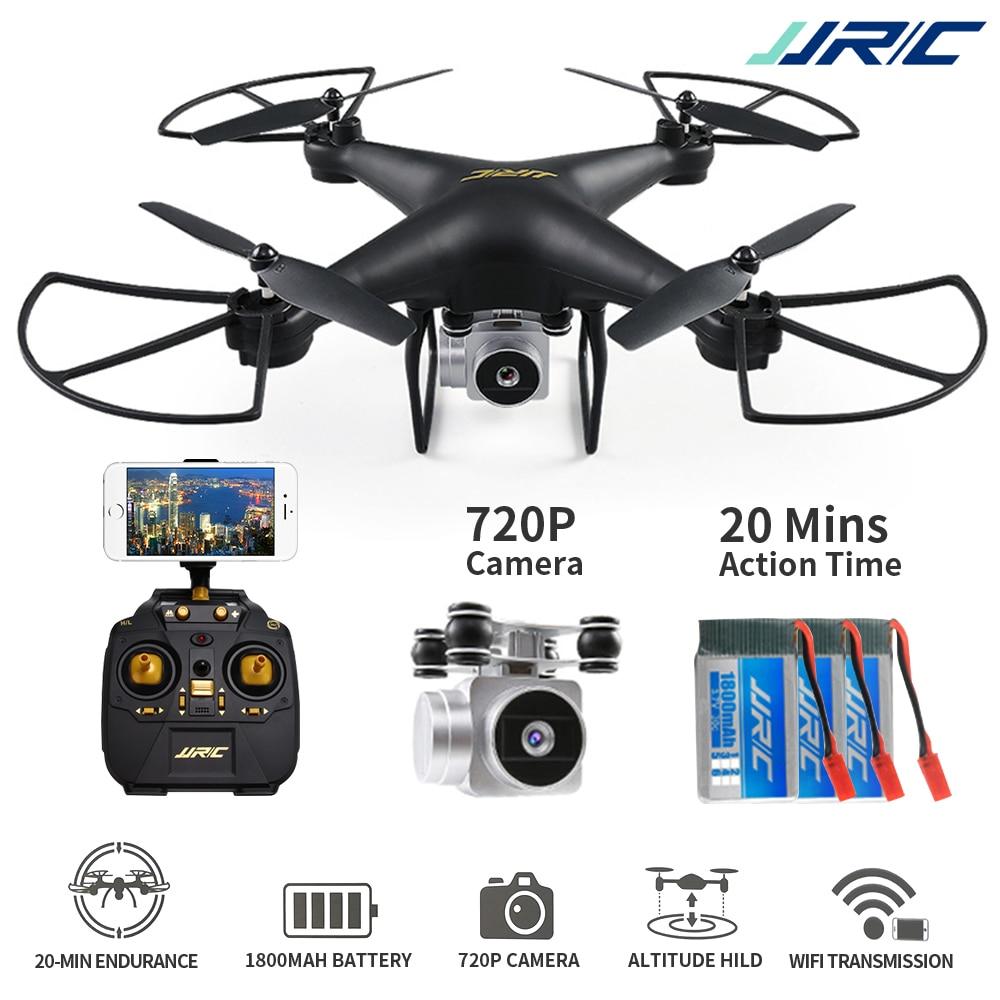 Maintien d'altitude drone rc quadrirotor à télécommande Avec 720 P Wifi FPV Caméra hélicoptère rc 20 minutes Professionnel Dron Quadrocopter