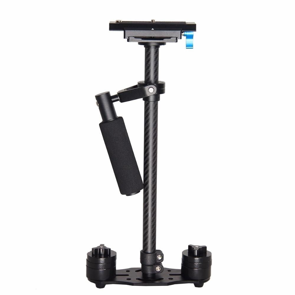 Professional Handheld Stabilizer 60CM Carbon Fiber High Precision Bearing 360 Stability Shooting for All SLR Home DV Cameras ashanks mini carbon fiber handheld