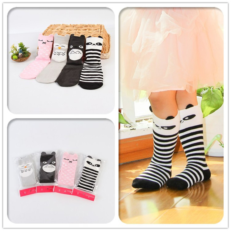 1 Paar Neue Ankunft Tier Baumwolle Rutschfeste Baby Socken Neue Infant Kleinkind Boden Für 0-4y