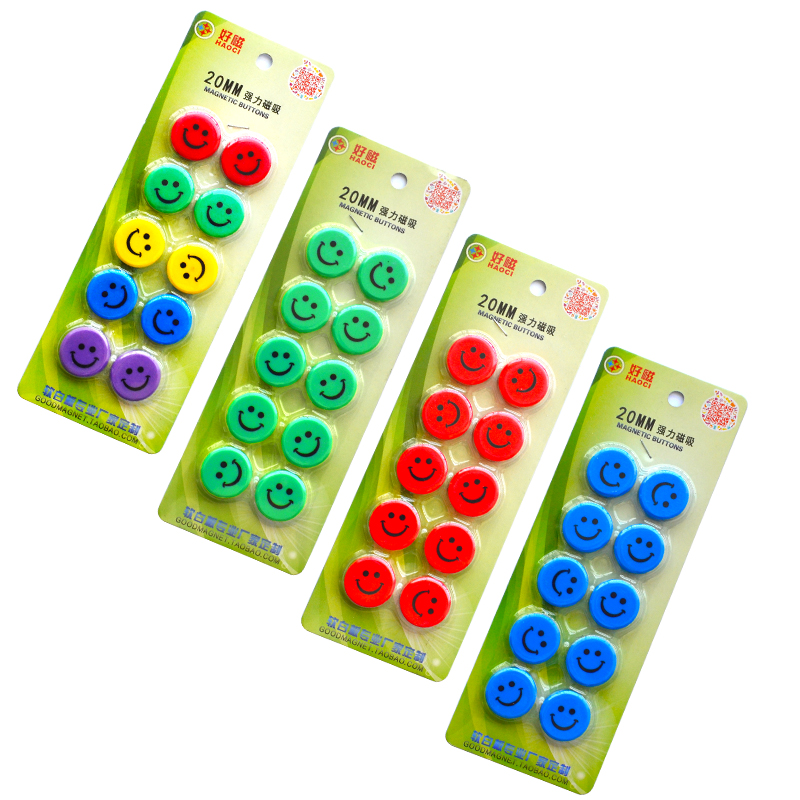 YIBAI Magnetic Round Magnet Whiteboard Presentation Radius=10mm Use For School Teaching/Mark Classification 10pcs/Lot