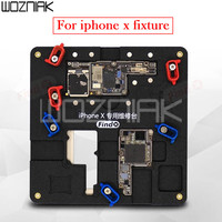 Find Fix Newest Circuit Board Jig Fixture PCB Holder for iPhone X Motherboard A11 Chip Repair Tools Kit