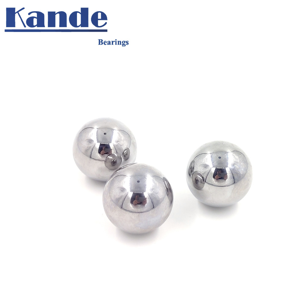 High Quality 31-40 GCR15 Solid Ball High Precision G20 1PC 31 - 40 Mm 1PC Hardness Bearing Ball For CNC ,impact Test .No Magnet