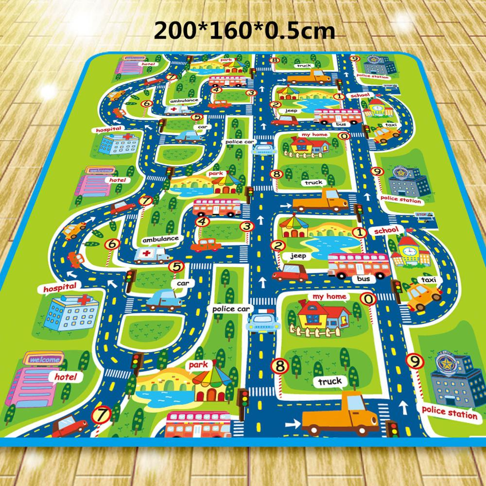 Play Mat Baby Rug For Kids Carpet Playmat Crawling Mat Developing Eva Foam Mat Carpet In The Nursery Children Game Pad