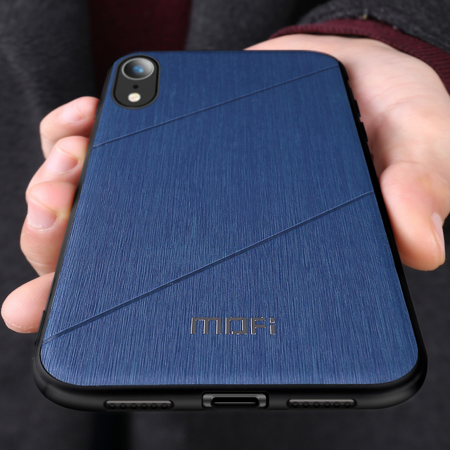 MOFI iPhone XS XR XS Max Luxury Shockproof Ultra Thin Back Case Cover