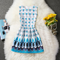 New Summer Kids Girls Dress Baby Muti Colors Swan Dresses Princess Sleeveless Party Frock Cartoon Children