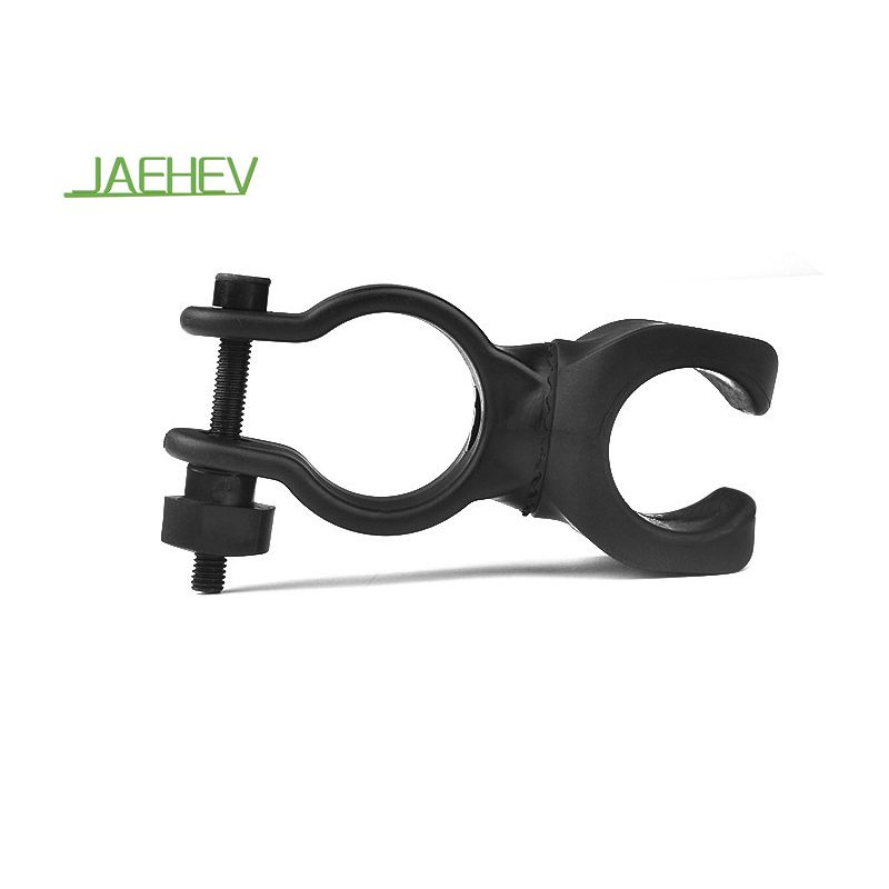 New Universal Bike Handle Bar Holder Mounting For Flashlight Torch Black PM RS