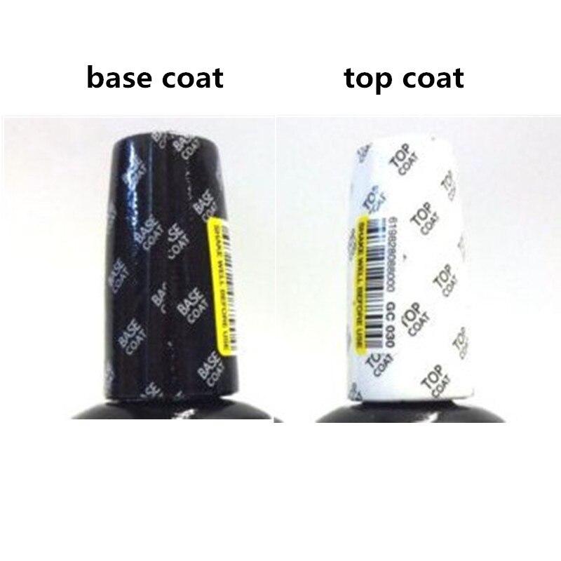 Base and Top Coat Gel Nail Polish UV 15ml Transparent Soak Off Primer Gel Polish Opies Gel Lacquer Nail Art Manicure цена 2017