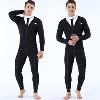 Men Long Sleeve Lycra Wetsuit Spearfishing Surfing Scuba Diving Equipment Anti UV Quick dry Wet Suit Plus Size S 2XL
