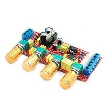 NE5532 OP-AMP HIFI Amplificateur Préamplificateur Volume Tone Contrôle EQ Conseil DIY KIT et produit fini # R179T # Drop Shipping