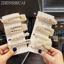 2019 New Women Girls Acrylic Hollow Rectangular Water Hair Clips Tin Paper Hairpins Barrettes Hair Accessories Headband(China)