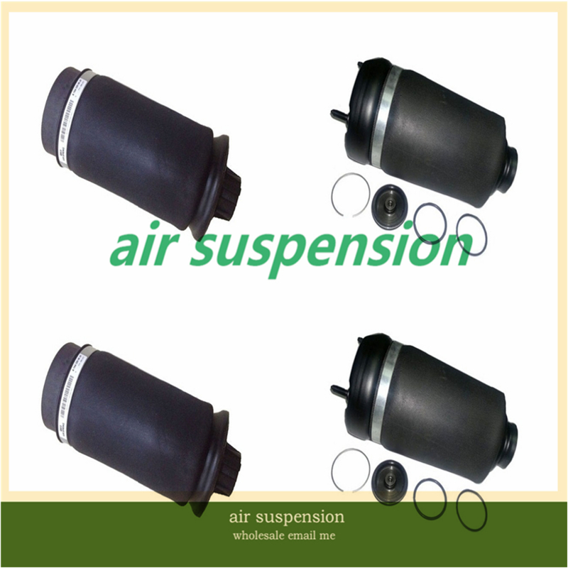 Free Shipping  For Mercedes Benz W164 ML GL Class 2pcs Front + 2pcs Rear Air Suspension Spring Bags Springs Bag